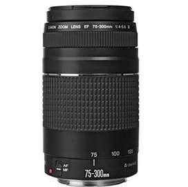 Vendo Canon Ef 75-300 Mm F /4-5.6 Iii Teleobjetivo Con Zoom