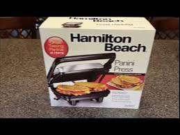 Parrilla para Panini - Hamilton Beach 0