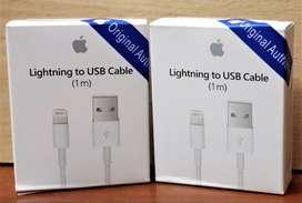 Cable Datos Carga Original 1 mtr Iphone 7 7 plus 6 6s plus 8 8 x 10 max s plus 10
