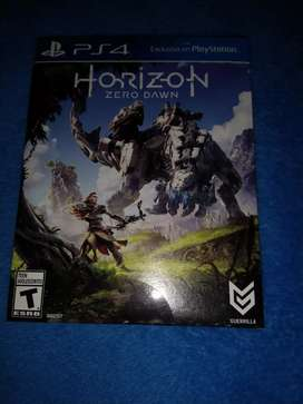 Pack de juegos (horizon Zero dawn, god of war 3 remastered PS4)