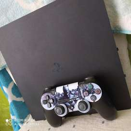 Ps4 slim en perfecto estado todo original