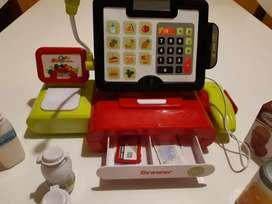 Caja registradora con sonido pantalla táctil ,escáner y balanza