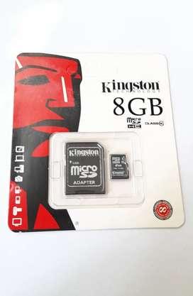 Memoria SD 8gb Promocion !!