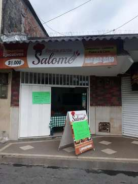 Se vende restaurante acreditado en calarca