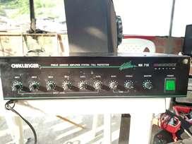 Vendo amplificador de 100 watts RMS