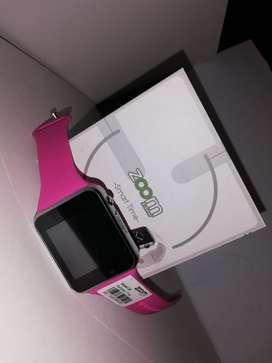 Reloj Inteligente Zoom Q6 Pulso Rosa envio gratis colombia