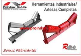 RODILLOS Y ARTESAS / TAMBORES
