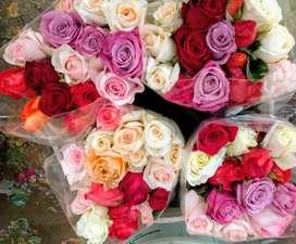 Se vende paquete de rosas