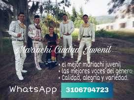 Mariachi Juvenil Ciudad - mariachis en Usme