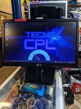 Monitor LG LED de 19 pulgadas