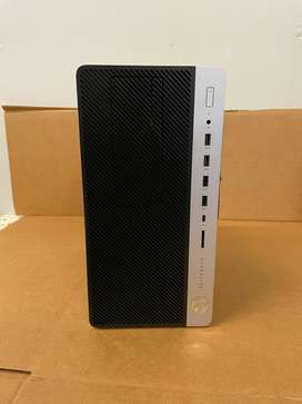 Recibo Criptomonedas Computador Pc Torre Gamer Diseño Oficina Hp Elitedesk 705 G4 Ryzen 2400G SSD 512GB RAM 16GB