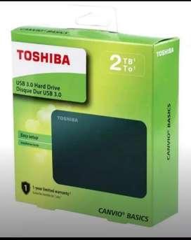 DISCO DURO 2 TB EXTERNO TOSHIBA