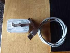 Cargador carga rápida y cable tipo c original Huawei p20, p30.