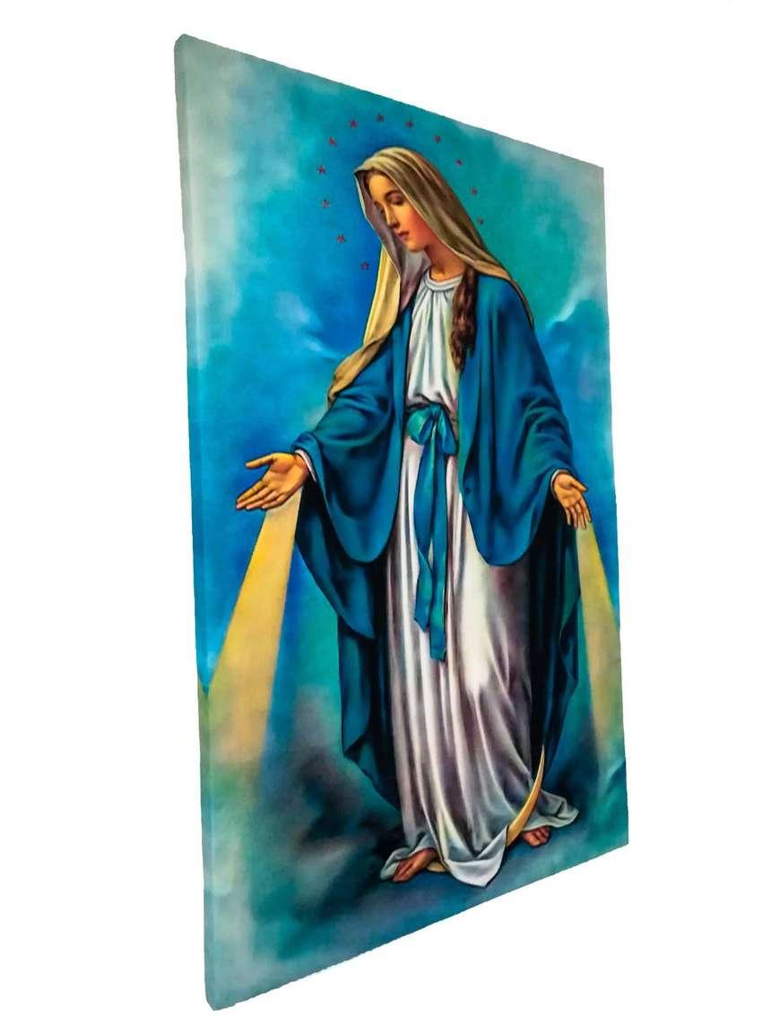Virgen La Milagrosa Impresión Lienzo 0