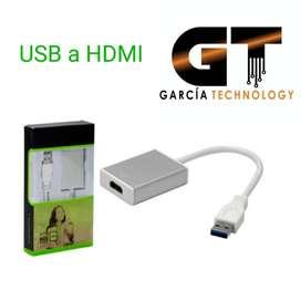 CONVERTIDOR USB A HDMI