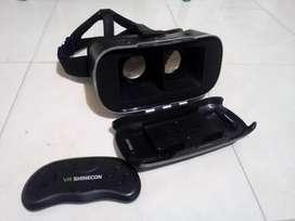 Ganga Gafas De Ralidad 3D  Control Remoto, Para Smartphone