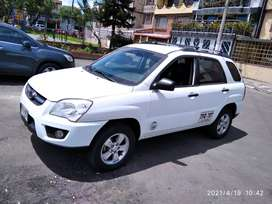 Kia Sportage recibo taxi