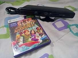 Kinect xbox 360 mas juego original - adventures
