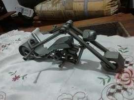 Arte en Hierro Moto Chopper