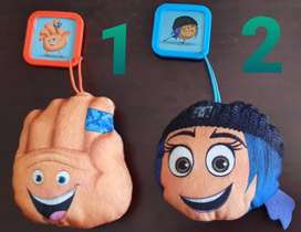 Peluches Muñecos Emojis Mc Donalds Hi-5 Lady Hacker Alto/StopASP