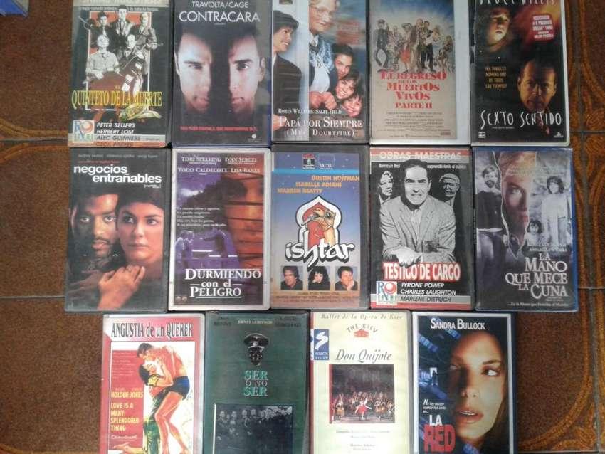 PELICULAS ORIGINALES EN VHS 50