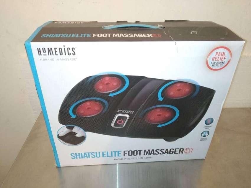 Masajeador de pies con calor shiatsu elite foot 0