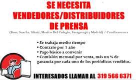 VENDEDORES / DISTRIBUIDORES DE PRENSA