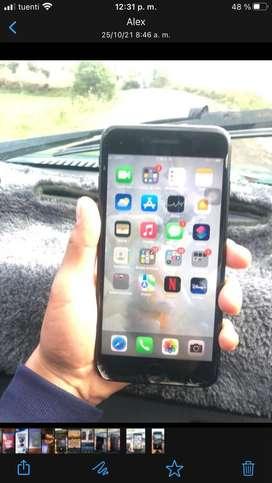 Iphone 7plus De 32 gb libre de todo 83 pociento de la bateria