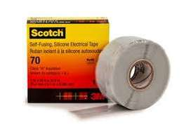 Scotch 70 Silicon Rubber Electrical Tape