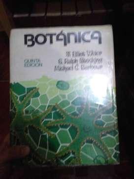 Libro de texto universitario sobre botánica