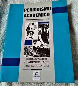 PERIODISMO ACADEMICO; EARL ENGLISH; ED. EDUCAR. MUY ECONOMICO!!