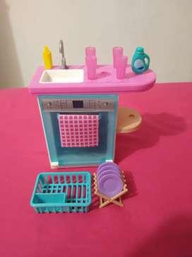 Barbie Set Lavavajillas Tamaño pequeño