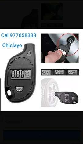 Manómetro Digital Medidor Portatil Aire Llanta Precisión Toyota yaris nissan