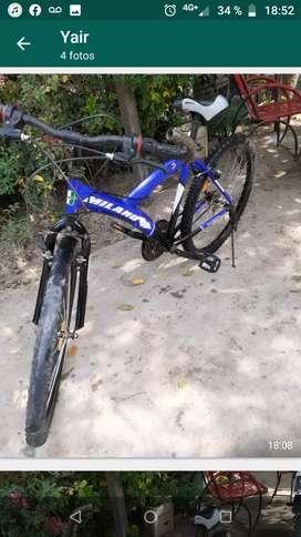 Bicicleta Milano Actionlady rodado 26