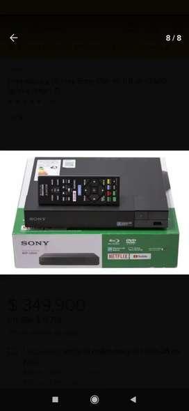 Ganga!! Blu Ray Sony BDP-S3500 completo.