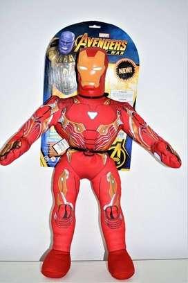 Muñeco Suave Iron Man Avengers 58 cm Original    al