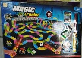 Magic Track Diy Pista Luces Tracks Niños