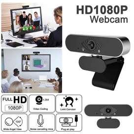 Cámara WebCam Pro FULL HD 1080p Con Micrófono Usb Videollama Zoom