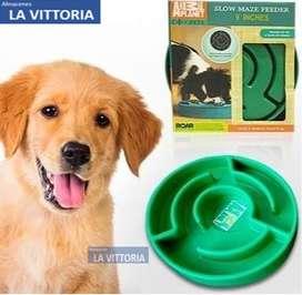 Plato para Mascotas para Alimentación Lenta