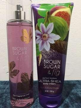 Bath and body works Brown sugar & fig