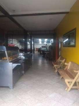Venta de mobiliario de restaurante y asadero UNICO en en zipacon cundinamarca.