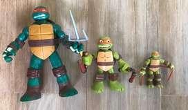 Lote de muñecos tortuga ninja importados
