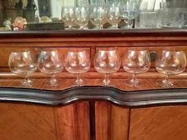 Copas de cognac juego x 6