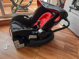 Silla de bebe para carro portátil