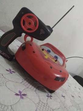 Carro a control remoto rayo McQueen