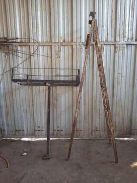 Escalera estructural reforzadas