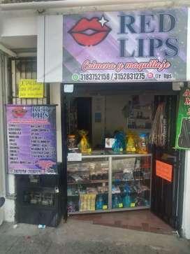 Se vende negocio de Colmena y maquillaje