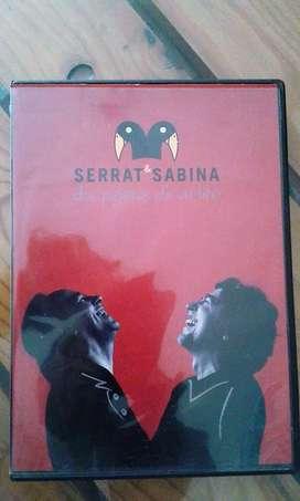 SERRAT SABINA Dos Pajaros de un Tiro DVD.