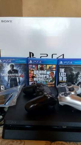 PS4 1TB IMPECABLE!!!