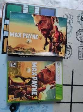 Juego Max Payne 3 Original Xbox-360 Cambio por otro artículo